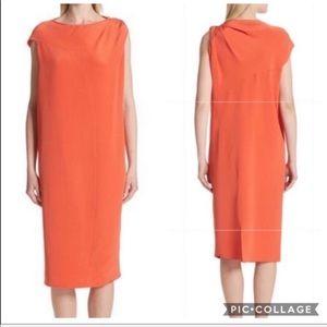 🆕 🌻 Zero + Maria Cornejo Twist Detail Silk Dress